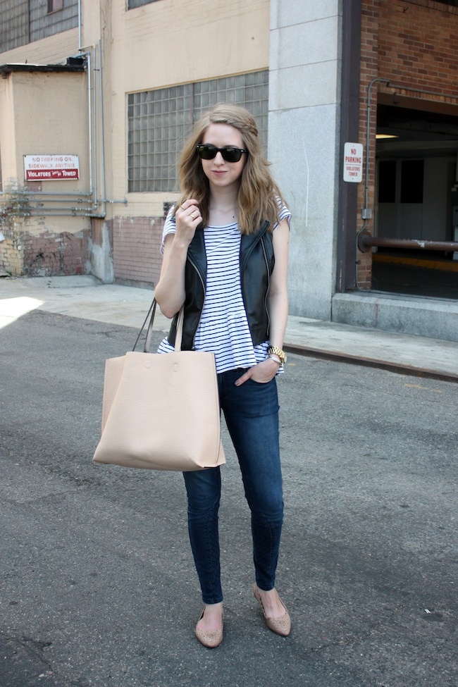 chelsea+lane+truelane+zipped+blog+minneapolis+fashion+blogger+bb+dakota+leather+vest+justfab+quited+denim+lulus+tote+shoedazzle2