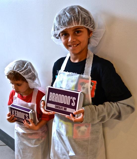 customized chocolate bars - Chocolate World Hershey PA USA