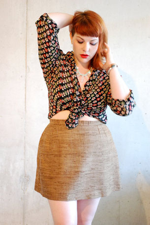 blog wooden skirt