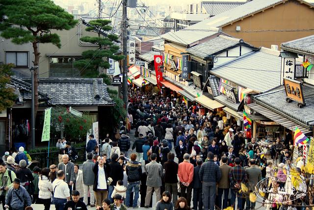 Kiyomizudera crowd