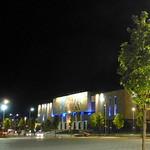 Tirana by night - Das Historische Nationalmuseum (albanisch Muzeu Historik Kombëtar)
