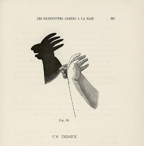 014- Un indio-Les Silhouettes animées à la main-1892-Victor E. Bertrand