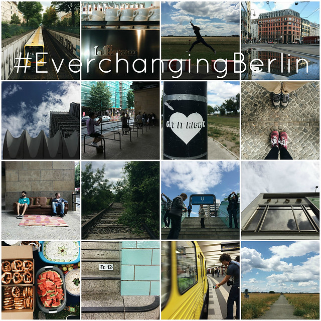 #EverchangingBerlin European Instameet Instagram collage_with text