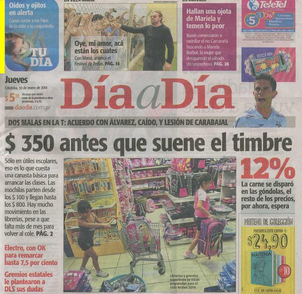 Diario Día a Día (Córdoba) 30-01-14 (1)