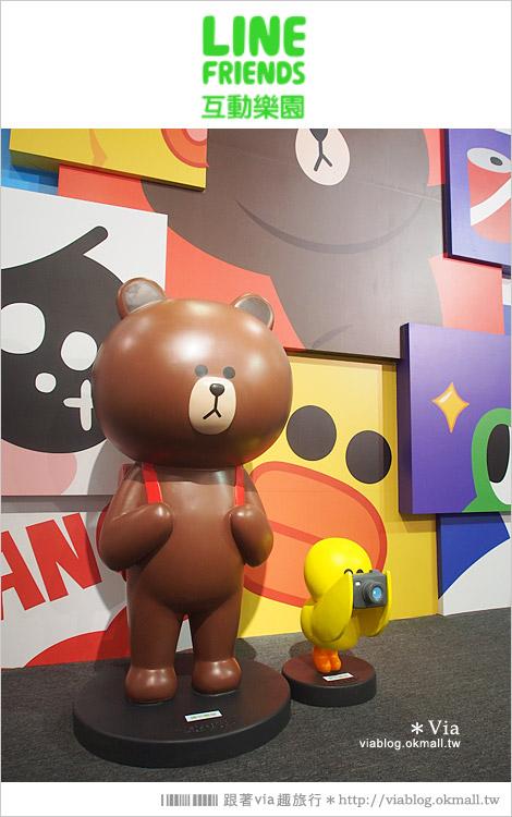【台中line展2014】LINE台中展開幕囉!趕快來去LINE FRIENDS互動樂園玩耍去!(圖爆多)18