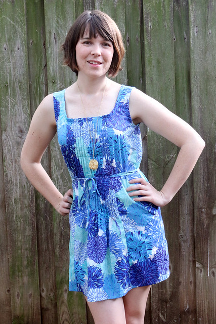 30 Days of Sundresses - Pintuck Dress