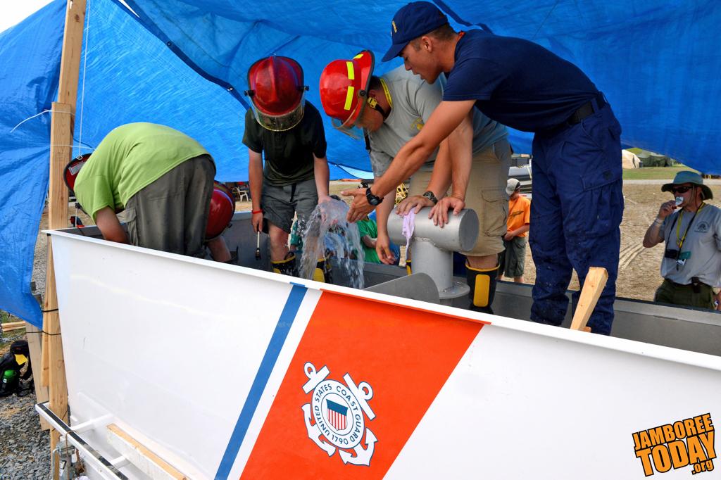 US Coast Guard Offers Search & Rescue Merit Badge