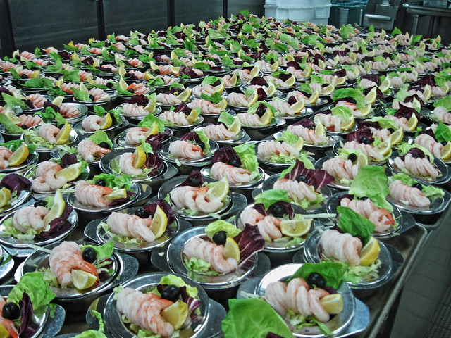 Galley tour - salad 20140619