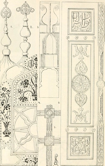 "Image from page 229 of ""Styles of ornament, exhibited in designs, and arranged in historical order, with descriptive text. A handbook for architects, designers, painters, sculptors, wood-carvers, chasers, modellers, cabinet-makers and artistic locksmiths"