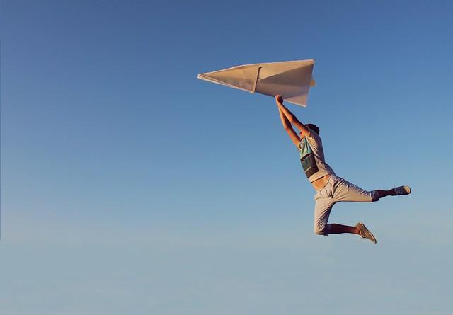 Alexandr Tikki - Paper airplane
