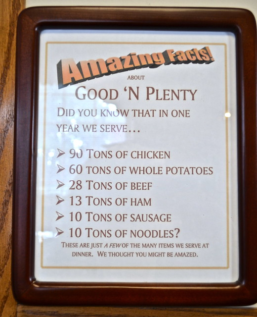 Fun Facts - Good n Plenty Restaurant Lancaster PA USA