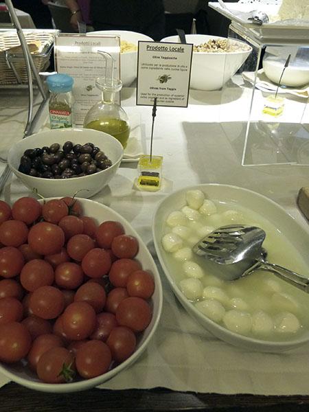 tomates et olives