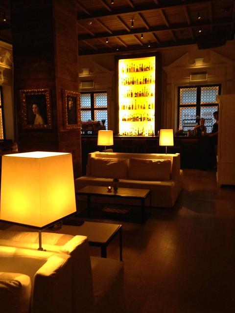 hotel bar at Public