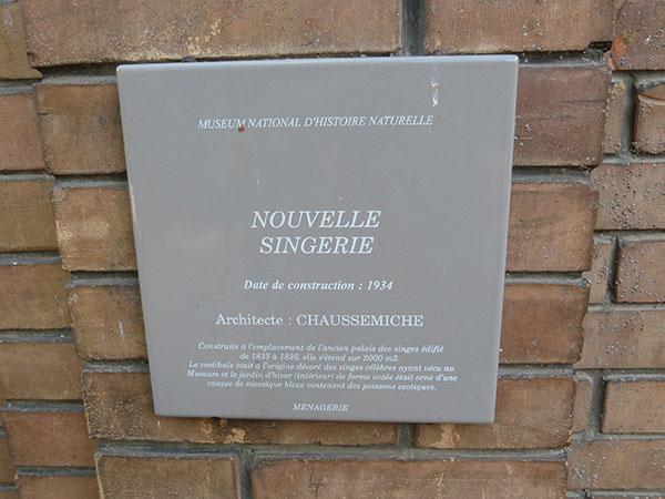 nouvelle singerie