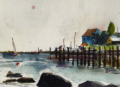 Docks, Stonington, Connecticut