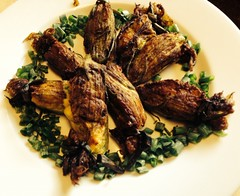 Foodlander Recipe: Stuffed Squash Blossoms with Cr…