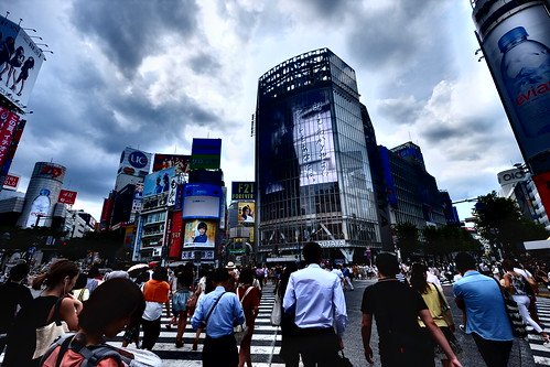 Shibuya summer crossing