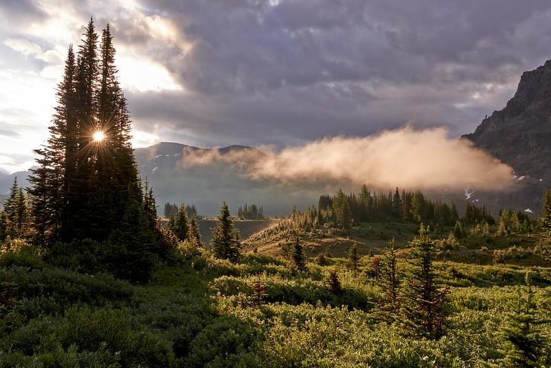 Sunrise - Mount Assiniboine Provincial Park