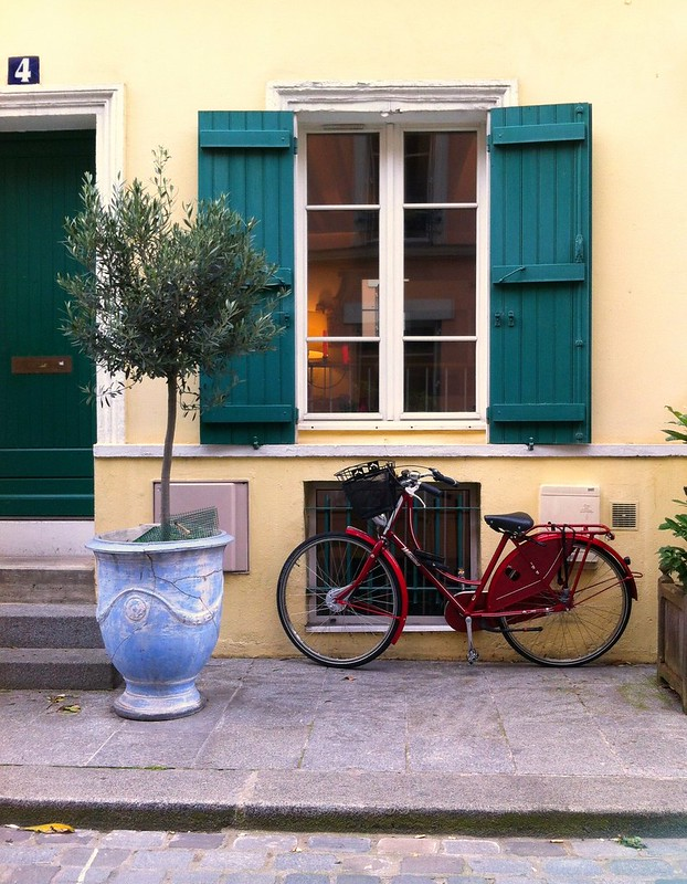 Shutters and Bicycle