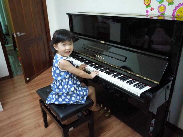 台南歸仁陳小姐YAMAHA U.P(台製1號琴)