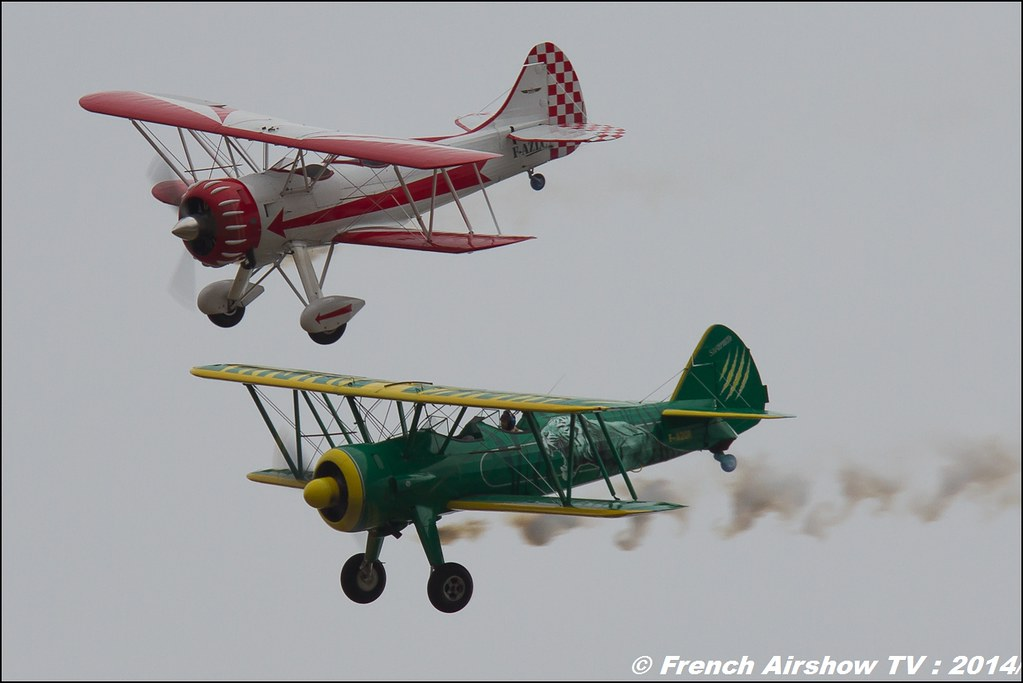 Patrouille Stearman & Waco : SIERRA WHISKY, Meeting aerien Nancy BA-133