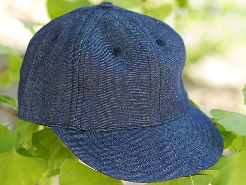 Cooperstown / Denim Solid Baseball Cap