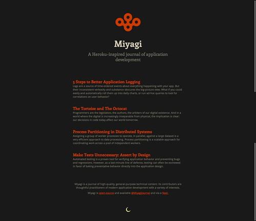 Miyagi Dark