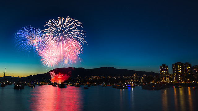 Celebration of Light 2014 - Team France