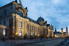 Schlossfassade - Dresden