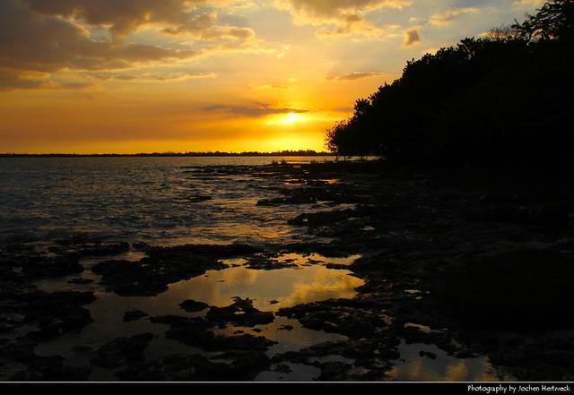 Sunset, Bahía de Cochinos, Playa Larga, Cuba