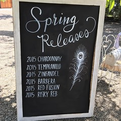 :musical_score:it's #springtime for #hillary in #winecountry @peacockcellars #pickupparty #winetasting