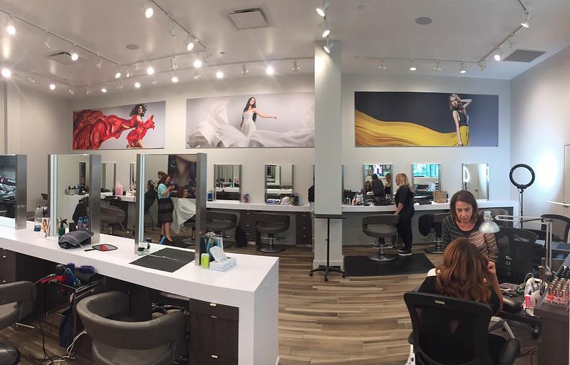 Non-Lit SEG Fabric Graphics at Tricho Salon & Spa