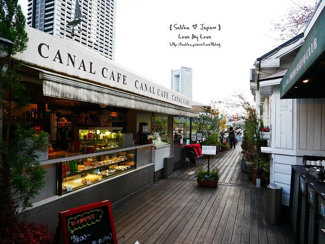 日本東京自由行賞櫻canal cafe水上餐廳 (29)