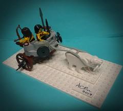 Barbarian Bear Chariot