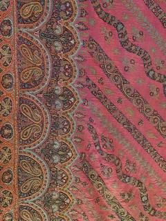 Kashmir shawl detail