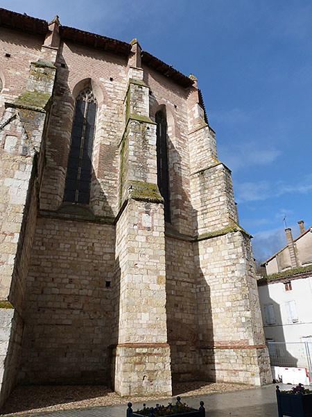 derrière l'abbaye