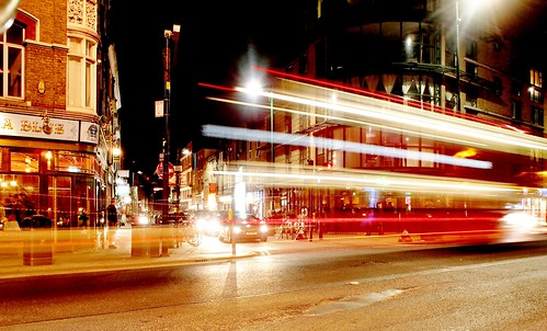 Brick Lane Bus Lights
