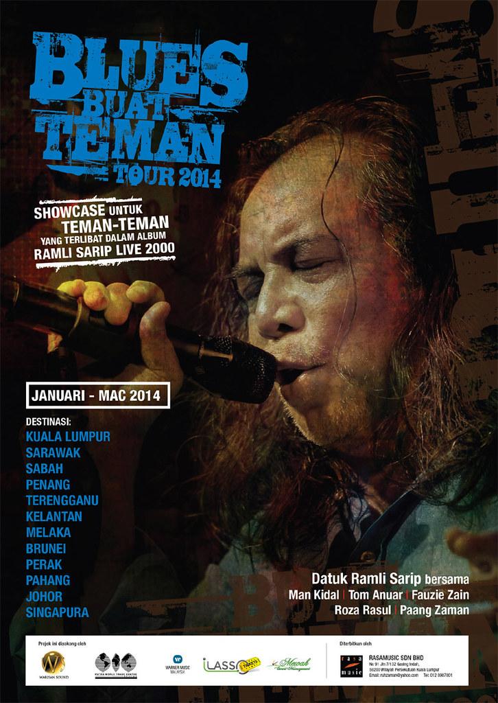 Konsert Blues Buat Teman Tour 2014