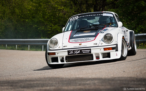 Porsche 911 Carrera (Christian DAZY & Benjamin AUBEUF) - 9ème Rallye Mont-Blanc Historique