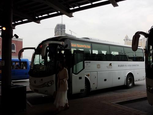 Macau free shuttle from Venetian to Galaxy