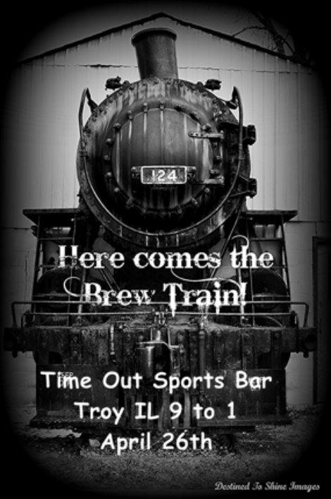 Brew Train 4-26-14
