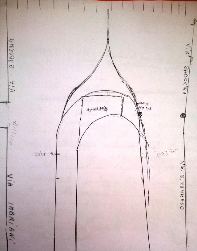 Noicattaro. La proposta di allungamento della penisola pedonale di via Cadorna