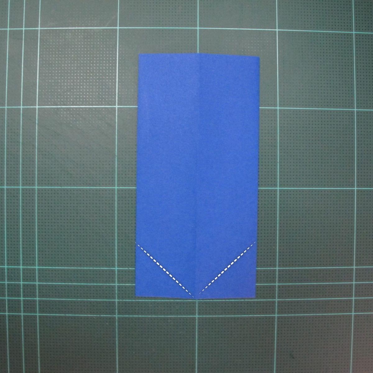 วิธีการพับกระดาษเป็นรูปกระต่าย แบบของเอ็ดวิน คอรี่ (Origami Rabbit)  003