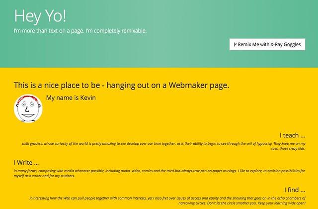 Webmaker Me