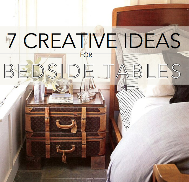 7 Creative Ideas For Bedside Tables