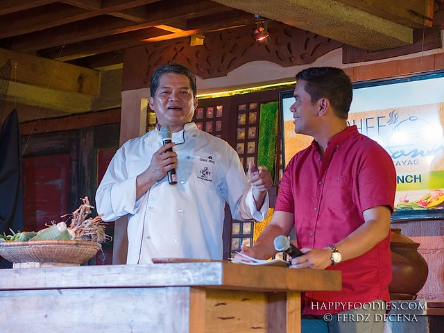 Chef Claude Tayag and Tonipet talks about the 711 Chef Creations