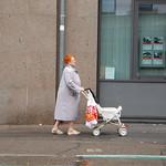 Clic-Clac photo marathon, 4th prize, old woman, stroller