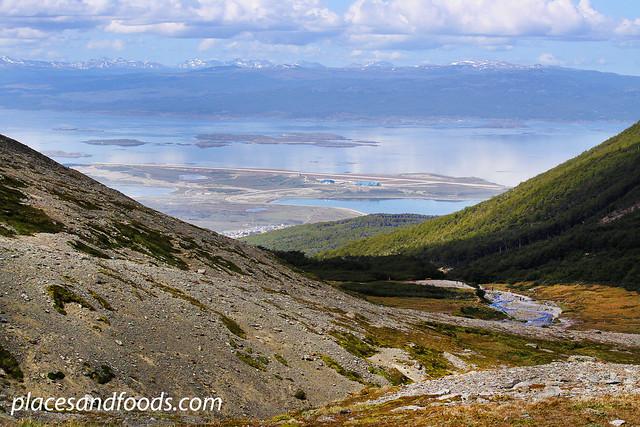 glaciar martial ushuaia view