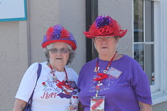 Red Hat Society Ladies in Bastrop 2014 April (3)