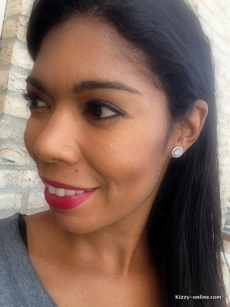 FOTD makeup jewelry earrings cate & Chloe
